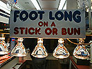 foot long, stick or bun